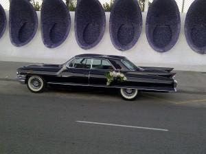 coches para bodas Valencia - cadillac