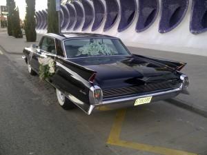coches clásicos para bodas