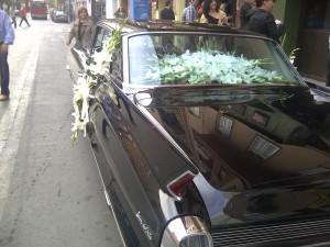 coches clásicos para bodas Valencia