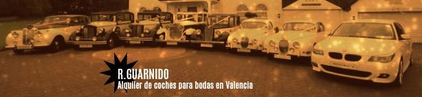 Coches para bodas en Valencia, varios modelos