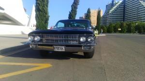 alquiler de coches antiguos en Valencia - Cadillac