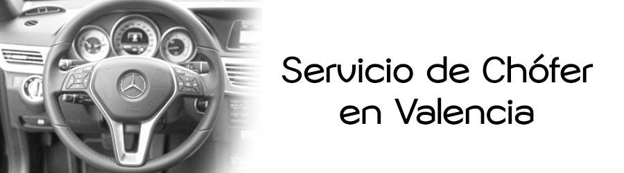 Servicio de chófer en Valencia Profesional