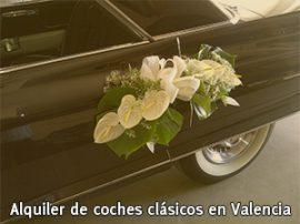Alquile a profesionales su coche clásico para eventos, bodas y comuniones