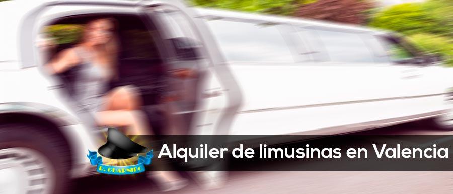 Alquiler de limusinas en Valencia con profesionales