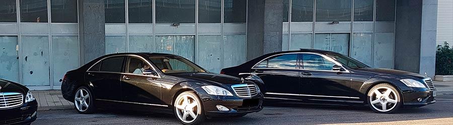 Empresa de alquiler de vehículos con conductor Valencia