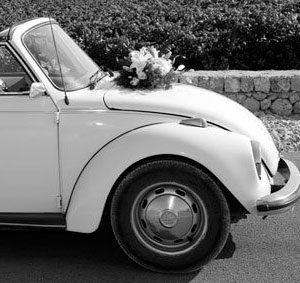 Coches clásicos para bodas en Valencia, elegancia del pasado