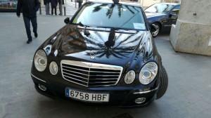 alquiler de coches para bodas - mercedes