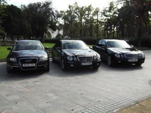 alquiler de vehículos con conductor en Valencia